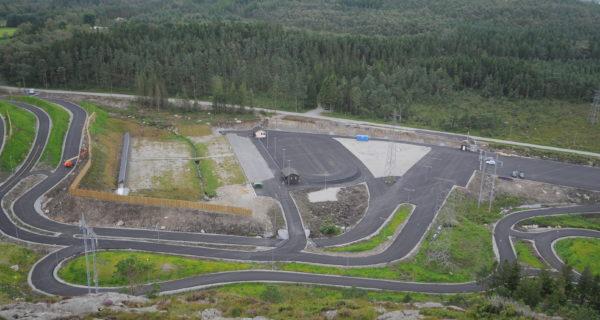 Sandnes Arena «oppe Og Går»