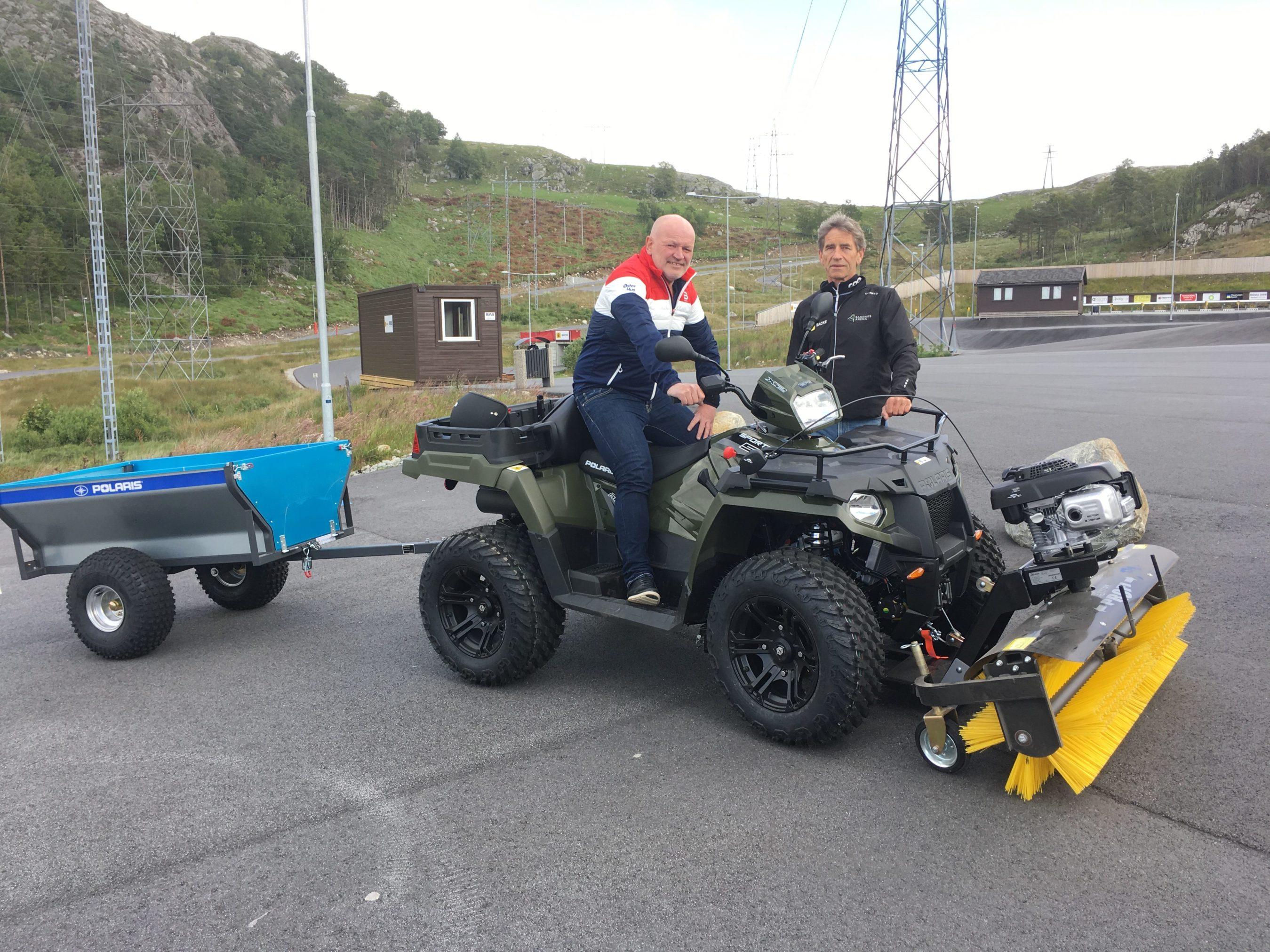ATV I Gave Fra ØsterHus-Gruppen/Solhytten AS